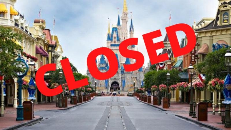 wdw closure info