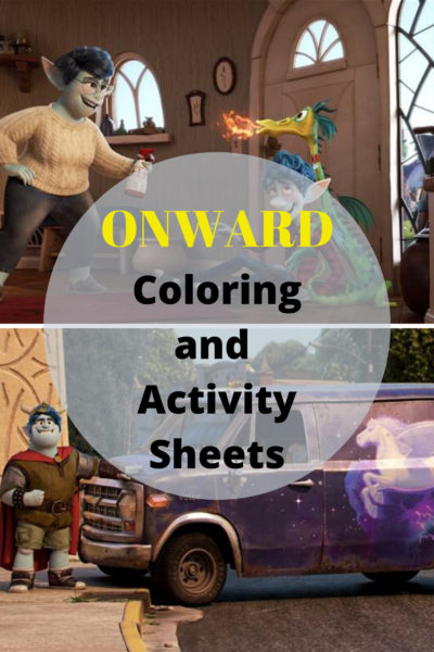 onward coloring activity sheets