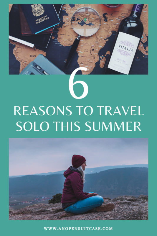 reasons to travel solo