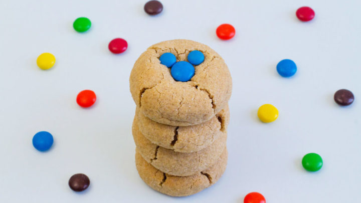 Mickey Peanut Butter Cookies