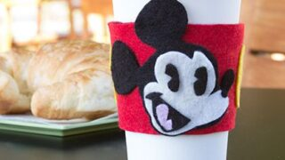 Mickey Felt Drink Sleeve