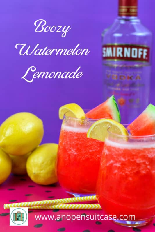 Boozy Watermelon Lemonade Recipe