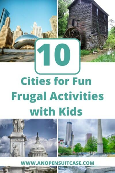 cities with activities for kids